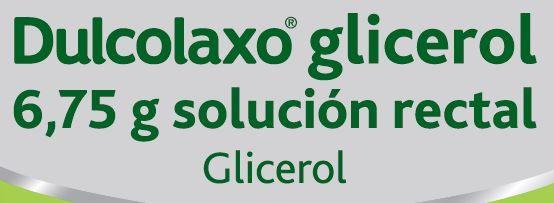 Dulcolaxo glicerol